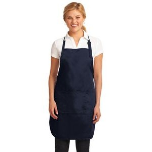 Port Authority® Easy Care Full-Length Apron w/Stain Release
