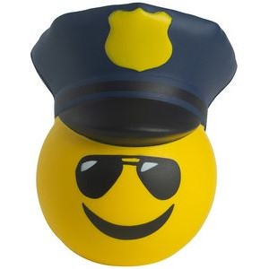 Police Emoji Squeezies� Stress Reliever