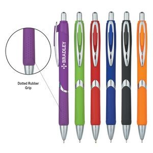 Dotted Grip Sleek Write Pen